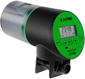 Zacro Aquarium Distributeur Automatique de Nourriture pour Poissons